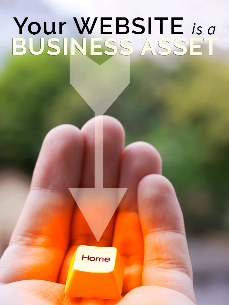 your website as business asset